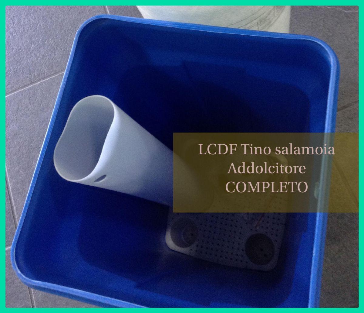Addolcitore per acqua con testata pentair a tempo doppio corpo 60lt a 200lt la casa del filtro - Addolcitore acqua casa ...