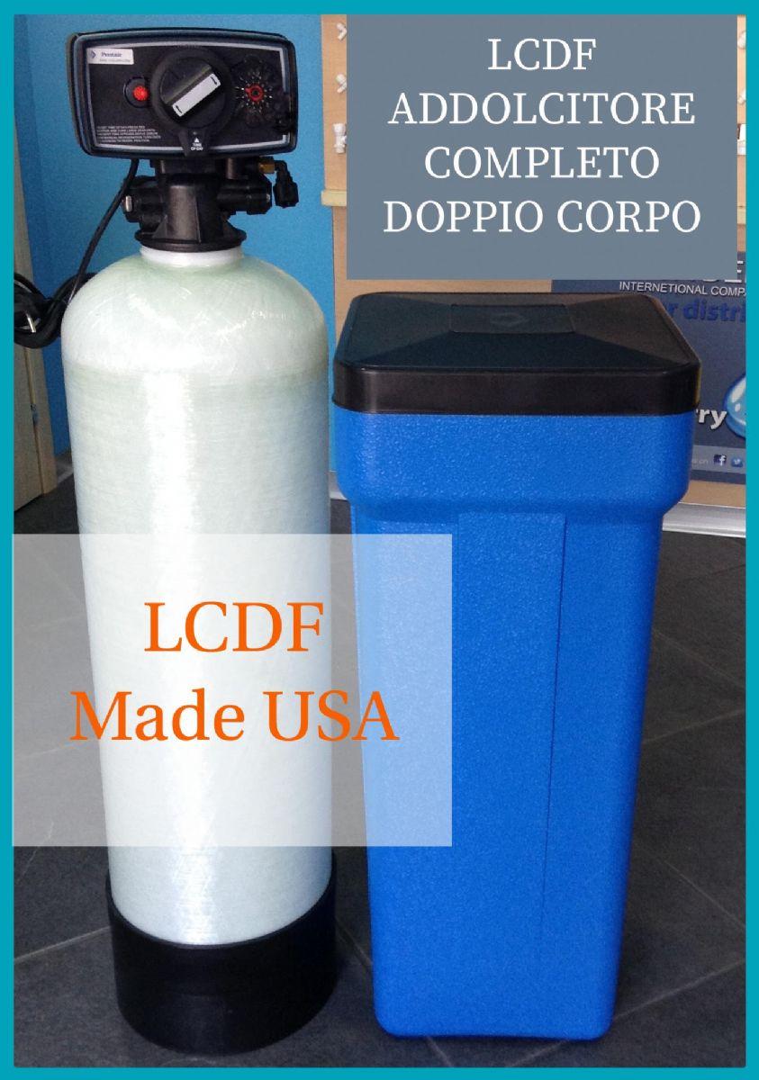 Addolcitori abitazione doppio corpo sistemi pronti la casa del filtro - Addolcitore acqua casa ...