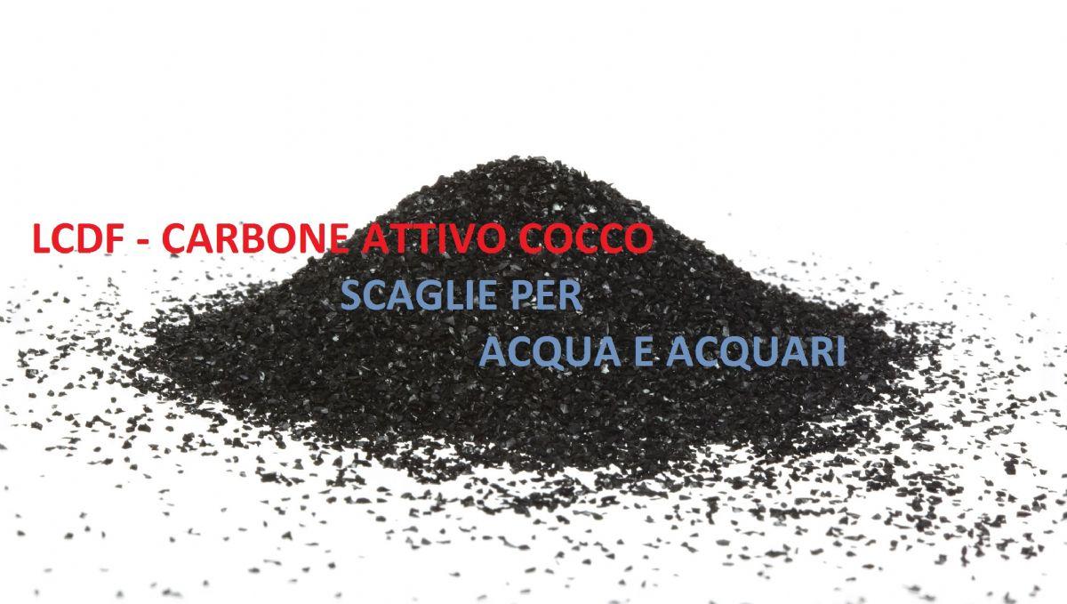 CARBONE ATTIVO GRANULARE 1 KG ACQUA ACQUARIO