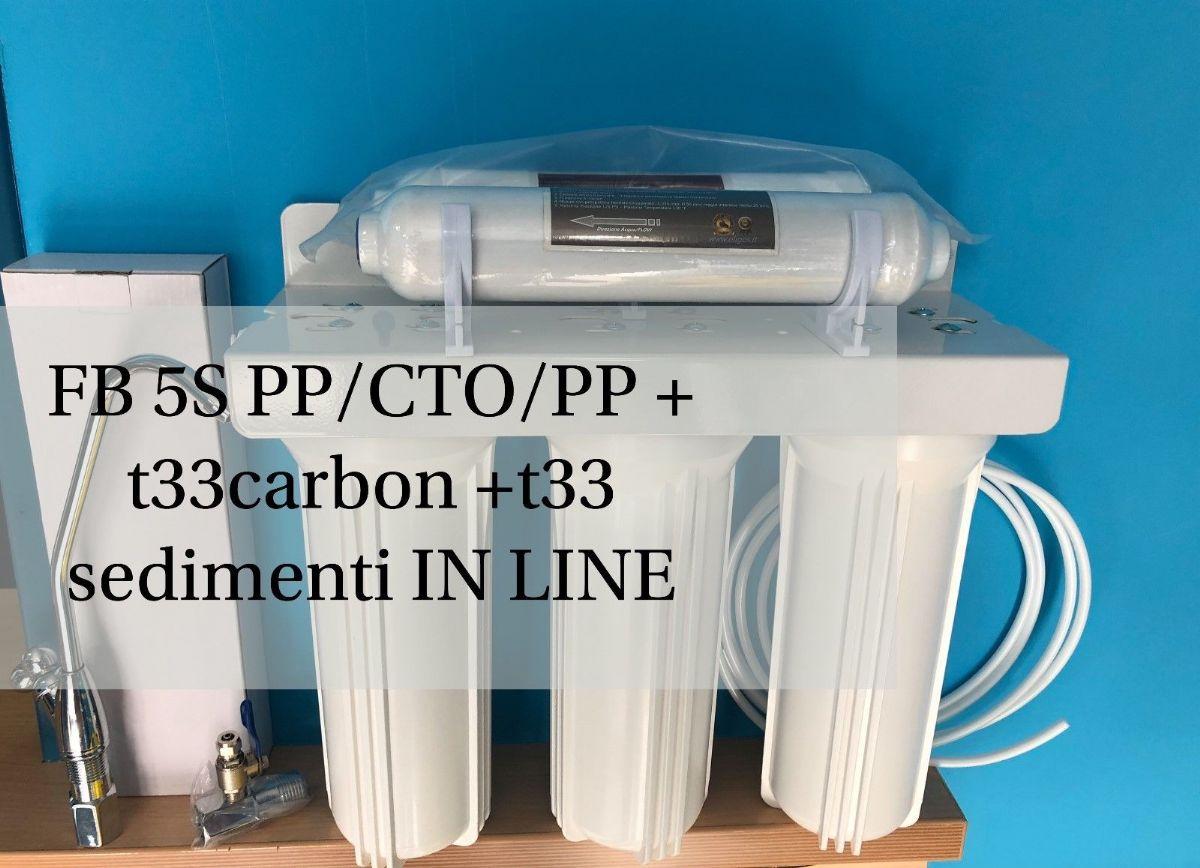 Depuratore acqua purificatore impianto a microfiltrazione 5 stadi mod 5cdf la casa del filtro - Depuratore acqua casa prezzo ...