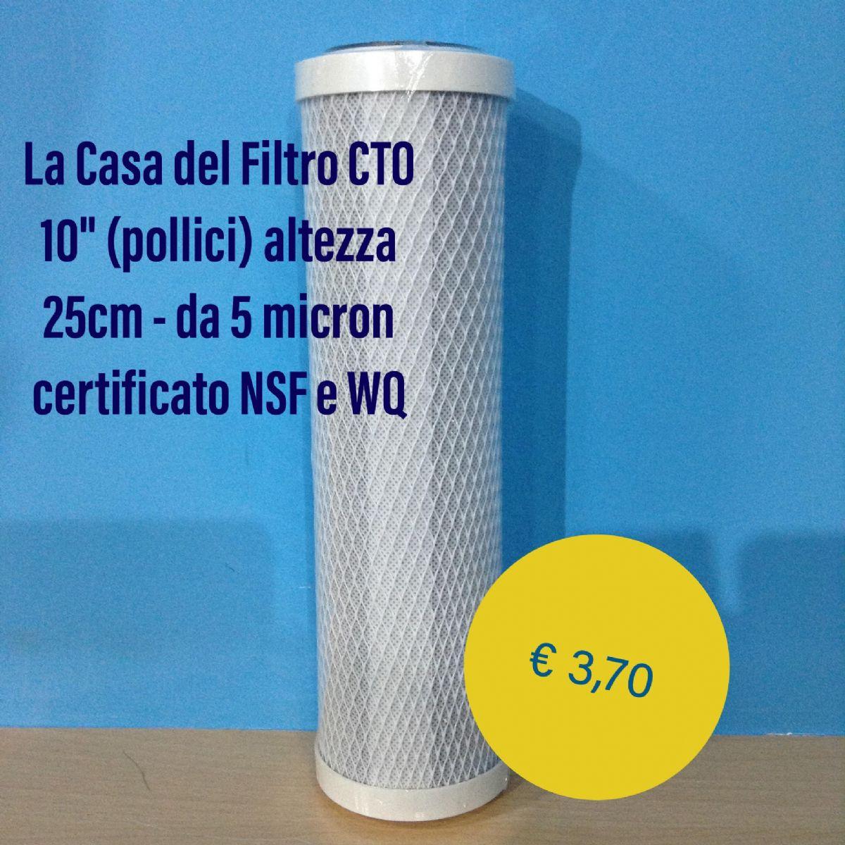 Filtro filtri acqua carbone attivo per depuratore acqua ad osmosi inversa 5 micron 10 pollici - Depuratore acqua casa prezzo ...