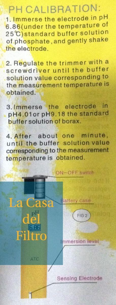 Ph per acqua misuratore tester pennino ph acqua osmosi for Depuratore per acquario tartarughe