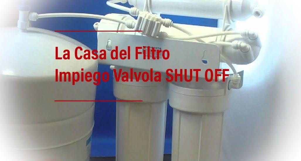Valvola shut off per depuratore acqua ad accumulo per - Depuratore acqua casa prezzo ...